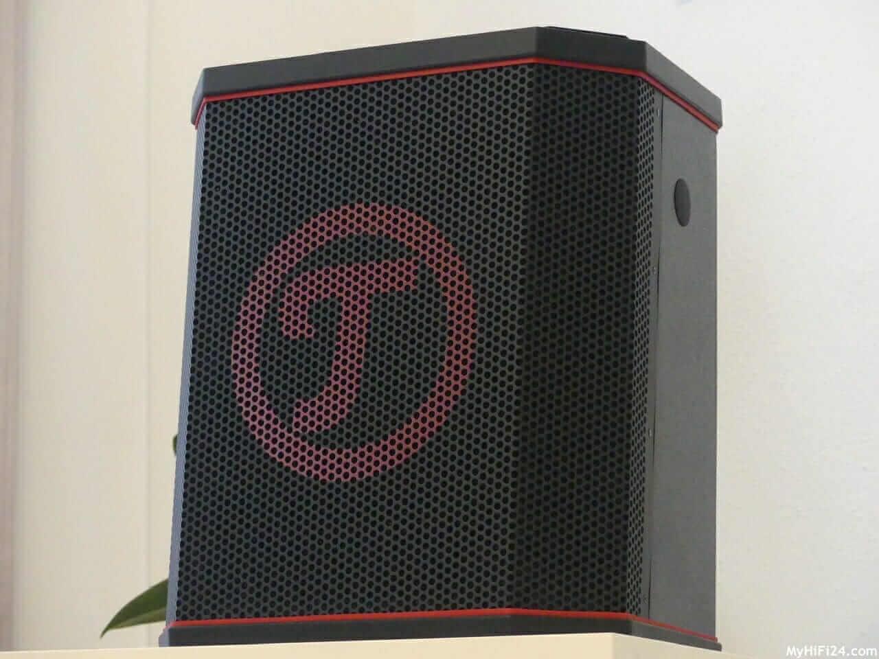 Ein Bluetooth-Lautsprecher mit Power unter der Haube und mit vielen Anschlussmöglichkeiten. Dieses Spektrum bietet der Teufel Rockster Air.