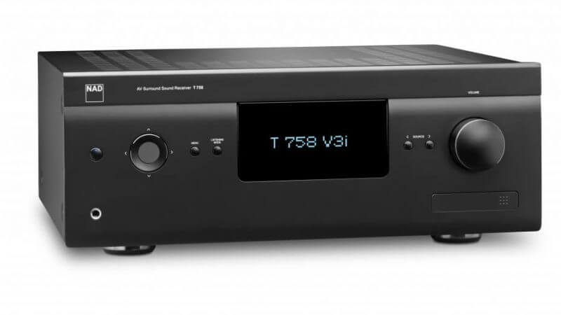NAD präsentiert neuen A/V-Receiver T758 V3i und erhält EISA-Award für den High End-Streaming-Verstärker NAD M33